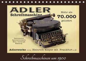 Schreibmaschinen um 1900 (Tischkalender 2021 DIN A5 quer) von Stoerti-md