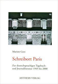 Schreibort Paris von Gees,  Marion