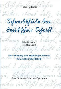 Schreibschule der deutschen Schrift von Delbanco,  Helmut