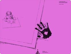 Schreibtischauflage für Linkshänder – Pink von Sattler,  Johanna Barbara