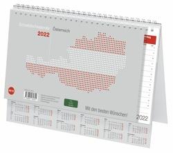 Schreibtischkalender Österreich groß Kalender 2022 von Heye