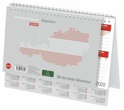 Schreibtischkalender Österreich klein Kalender 2022 von Heye