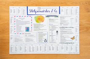"""Schreibunterlage """"Stolperwörter"""" von Stang,  Christian"""