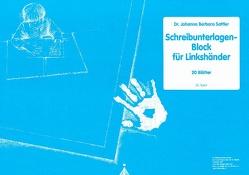 Schreibunterlagenblock DIN A2 für Linkshänder von Sattler,  Johanna Barbara