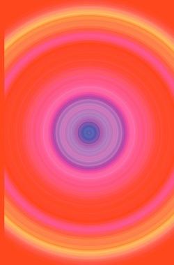 """Schreibwandel Notizbuch mit Reim-Affirmation """"Voller Perspektiven"""" (Mandala rot gelb violett) von Designs,  Schreibwandel, Lisann,  Melina"""