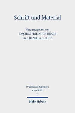 Schrift und Material von Luft,  Daniela C., Quack,  Joachim Friedrich