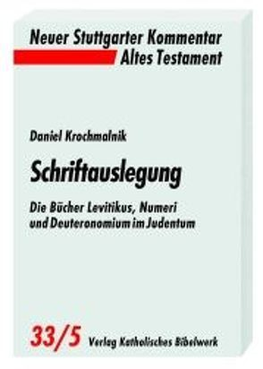 Schriftauslegung von Krochmalnik,  Daniel