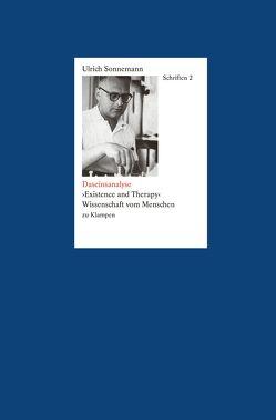 Schriften / Daseinsanalyse. Schriften 2 von Fiebig,  Paul, Forssman,  Friedrich, Sonnemann,  Ulrich