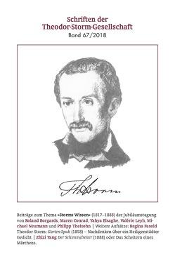 Schriften der Theodor-Storm-Gesellschaft 67/2018 von Theodor-Storm-Gesellschaft