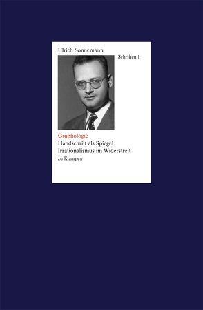 Schriften / Graphologie. Schriften 1 von Fiebig,  Paul, Forssman,  Friedrich, Klenke,  Claus V, Sonnemann,  Ulrich