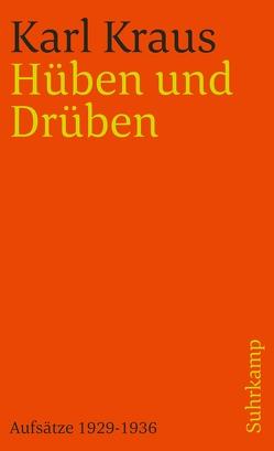 Schriften in den suhrkamp taschenbüchern. Zweite Abteilung. Acht Bände von Kraus,  Karl, Wagenknecht,  Christian