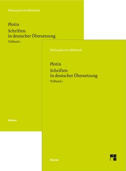 Schriften in deutscher Übersetzung von Harder,  Richard, Plotin