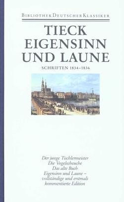 Schriften in zwölf Bänden von Schweikert,  Gabriele, Schweikert,  Uwe, Tieck,  Ludwig