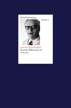 Schriften / Land der Sprachlosen. Schriften 7 von Fiebig,  Paul, Forssman,  Friedrich, Sonnemann,  Ulrich