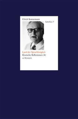Schriften / Land der Sprachlosigkeit. Schriften 7 von Fiebig,  Paul, Forssman,  Friedrich, Sonnemann,  Ulrich