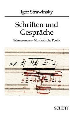 Schriften und Gespräche von Strawinsky,  Igor