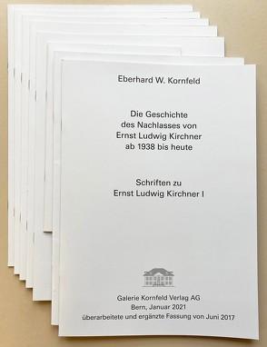 Schriften zu Ernst Ludwig Kirchner I – VIII
