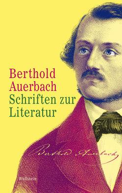 Schriften zur Literatur von Auerbach,  Berthold, Twellmann,  Marcus