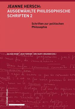 Schriften zur politischen Philosophie von Imhof,  Silvan, Marti-Brander,  Urs, Terrier,  Jean