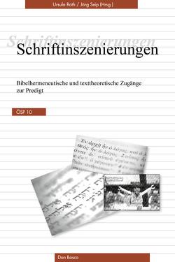 Schriftinszenierungen von Roth,  Ursula, Seip,  Jörg