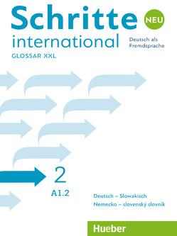 Schritte international Neu 2 von Hueber Verlag GmbH & Co. KG, Rajnohová,  Miriam