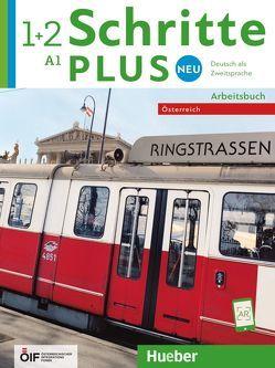 Schritte plus Neu 1+2 – Österreich von Bovermann,  Monika, Mayrhofer,  Lukas, Niebisch,  Daniela, Penning-Hiemstra,  Sylvette, Pude,  Angela, Specht,  Franz