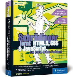 Schrödinger lernt HTML5, CSS und JavaScript von Günster,  Kai