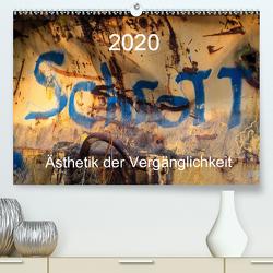 Schrott – Ästhetik der Vergänglichkeit (Premium, hochwertiger DIN A2 Wandkalender 2020, Kunstdruck in Hochglanz) von Watzinger,  Max