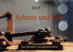 Schrott und Rost (Wandkalender 2019 DIN A3 quer) von Damm,  Anette
