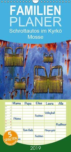 Schrottautos im Kyrkö Mosse – Familienplaner hoch (Wandkalender 2019 , 21 cm x 45 cm, hoch) von K.Schulz,  Eckhard