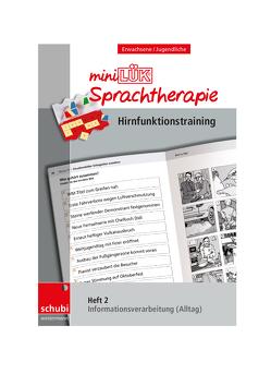 Schubi-LÜK-Sprachtherapie Erwachsene / miniLÜK-Sprachtherapie – Hirnfunktionstraining von Steiner, Zöllner