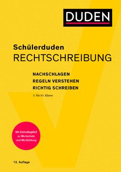 Schülerduden Rechtschreibung und Wortkunde (kartoniert) von Dudenredaktion