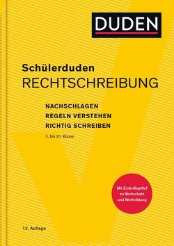 Schülerduden Rechtschreibung und Wortkunde (gebunden) von Dudenredaktion