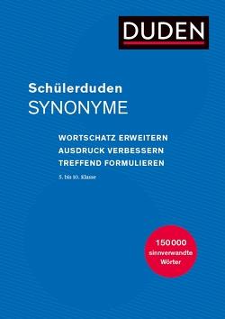 Schülerduden Synonyme von Dudenredaktion