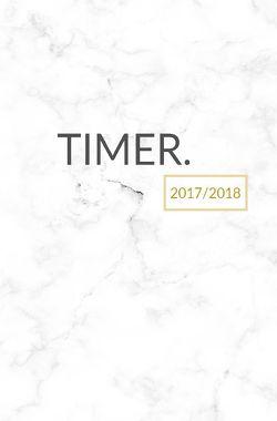 Schülerkalender 2017 2018 – Schulplaner 17/18 – Schülerkalender A5 – 1 Woche auf 2 Seiten von Stuyding,  Creative
