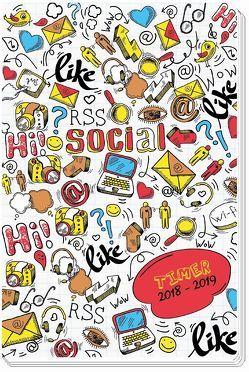 Schülerkalender Social 2018/2019 – Schulplaner, Schülerplaner