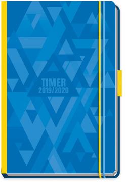 Schülerkalender Spot Blue 2019/2020