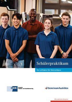 Schülerpraktikum von Bartke,  Elisabeth, Deutscher Industrie- und Handelskammertag e.V., Heiberger,  Jana