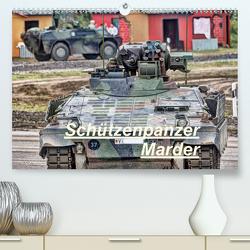 Schützenpanzer Marder (Premium, hochwertiger DIN A2 Wandkalender 2021, Kunstdruck in Hochglanz) von Hoschie-Media