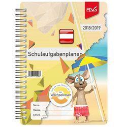 Schulaufgabenplaner mit Frieda & Otto 2018/2019 – Ausgabe Österreich von Lückert,  Wolfgang