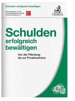 Schulden erfolgreich bewältigen von Binner,  Esther, Bundesarbeitsgemeinschaft Schuldnerberatung e.V. (BAG SB), Lackmann,  Frank