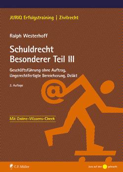 Schuldrecht Besonderer Teil III von Westerhoff,  Ralph
