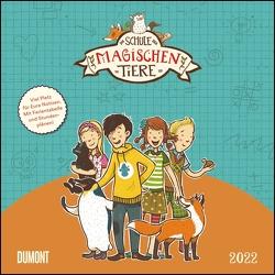 Schule der magischen Tiere 2022 – Broschürenkalender für Kinder – Format 30 x 30 von Auer,  Margit, Dulleck,  Nina