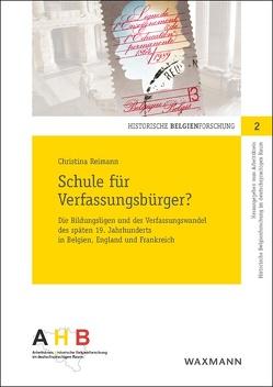 Schule für Verfassungsbürger? von Reimann,  Christina