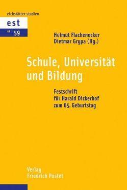Schule, Universität und Bildung von Flachenecker,  Helmut, Grypa,  Dietmar