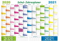Schuljahresplaner 2020/2021 von Momm,  Helga