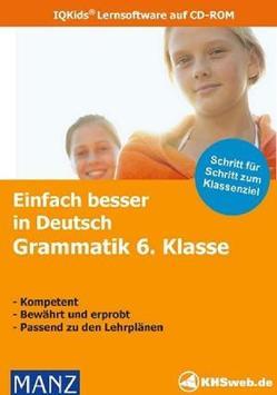 Schullizenz – Fit in Deutsch: Grammatik 6. Klasse – Windows 10 / 8 / 7 / Vista / XP von Süss,  Peter