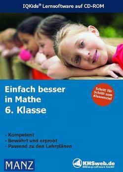 Schullizenz – Fit in Mathe: Lernprogramm 6. Klasse – Windows 10 / 8 / 7 / Vista / XP von Wittrock,  Ingo
