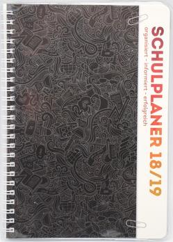 Schulplaner 2018/2019 Schülerplaner Schülerkalender SCHWARZ