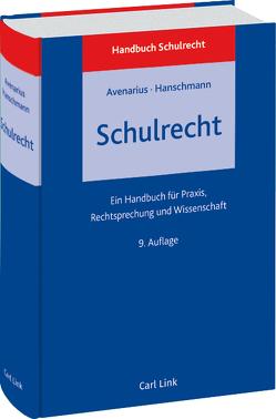 Schulrecht von Avenarius,  Hermann, Hanschmann,  Felix